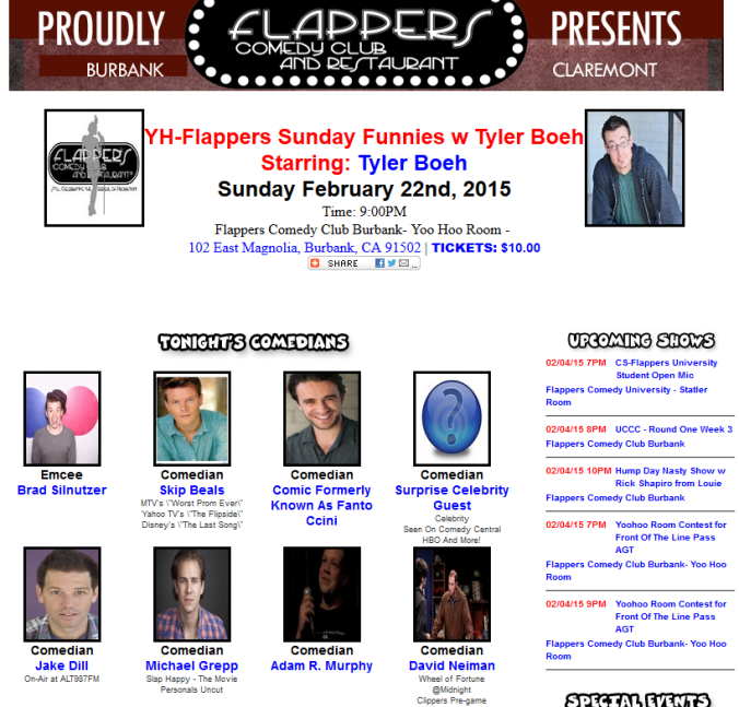 flappers yoohoo room